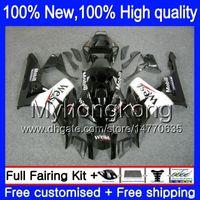 Wholesale west fairings - Body Bodywork For HONDA Black West CBR1000RR 06-07 CBR1000 RR 39MY5 CBR 1000RR 1000 RR 06 07 Black white 2006 2007 Injection Fairing kit