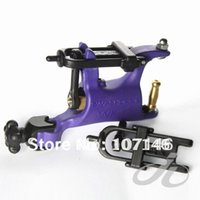 Wholesale Swashdrive Whip Rotary - Wholesale- Pro SWASHDRIVE WHIP G7 Butterfly Rotary Tattoo Machine Gun Purple Tattoo Kits Supply Hot