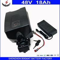 Wholesale Kit Motor For Electric Bike - eBike Battery 48V 18Ah 30A BMS For Bafang BBS Motor 1000W Kit Lithium Battery 48V With 2A Charger Electric Bike Battery 48V