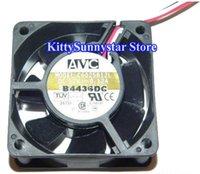 Wholesale Avc Fan Cpu - New AVC 6CM 60*25mm C6025B12L 12V 0.12A 3 wires 3 pins case fan cpu cooler
