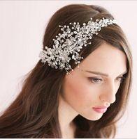 Wholesale Star Headdress - Gorgeous Crystal Wedding Bridal Tiaras Crown Wedding Hair Jewelry 2015 Bridal Headpiece Hair Accessory Wear Hair Accessories headdress HT14