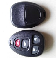 Wholesale Gm Fob Cover - Car 4 button remote key cover for Buick GM 3+1 button remote keyless key fob shell 20pcs lot free shipping