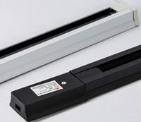 compteurs instantanés achat en gros de-Spot LED Rail léger Rail léger 1 mètre de rail de rail de magasin de vêtements magasin spécial connecteur