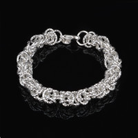 Wholesale Car Sales Cheap - Free Shipping with tracking number Top Sale 925 Silver Bracelet Cars flowers Bracelet Silver Jewelry 10Pcs lot cheap 1554