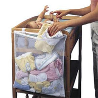 Wholesale Cheap Bedding Bag - 2014 New Portable Baby Accessories Storage Bags Cheap Large Size Organizer for Baby Bed