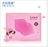 Lip pad treatments - PILATEN Face Care Facial Crystal Collagen Lip Mask Lip Care Moisture Anti ageing Wrinkle Patch Pad Gel
