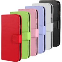 Wholesale galaxy s3 wallet phone cases - Wallet PU Leather Case For iPhone 6 6 Plus Samsung Galaxy s3 4 5 Phone Covers With Photo Frame DHL Free SCA053