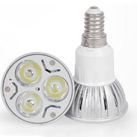 Wholesale E27 Led Spotlight W led cup lamp led bulbs e14 candles light mr16 AC85 V DC volt