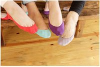 Wholesale Cheapest Women Formals - Wholesale-Women's Socks Cheapest ! 2015 NEW Fashion Hot Invisible Socks Sock Slippers Shallow Mouth Sock Thin Solid Color