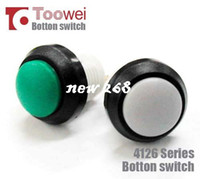 Wholesale Round Push Button Switches - 50pcs 12mm round pushbutton switch IP67 Latching ON OFF Free shipping
