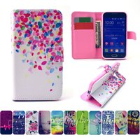 Wholesale Galaxy Core Flip Cover - For Samsung Core Prime G360 Leather TPU Flip Wallet Phone Case Cover With Card Slot Holder Money Pocket Stand for Galaxy G3608
