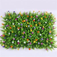 ingrosso tappeto erboso artificiale-40x60 cm plastica artificiale floreale prato tappeto erboso sintetico erba verde mat giardino muschio paesaggio decorazione della casa yw 326