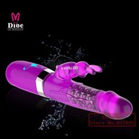 Wholesale Sexy Vibration - Best Jack Rabbit Vibrators G-Spot Vibration & Rotation massager adult sex products for woman sexy toys clitoral vibrator dildo