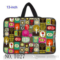 """Wholesale Neoprene Netbook Bag Sleeve - Trees Collection Netbook Laptop Sleeve Case Bag Pouch Cover For 13"""" inch 13.3"""" Macbook Pro   Air"""