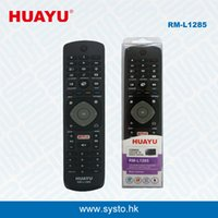 Wholesale Philips Tv Dvd - RM-L1285 Universal TV Remote Controller Add Netflix Function Use for Philips LED LCD HD TV