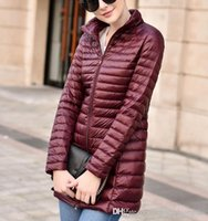 Best Winter Down Coat Mulheres Marca Design Long Fashion Slim ladies Parka Warm Outwear Casacos frios American Plus Size Cheap Sale