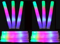 Wholesale Toy Tubas - Sponge Glow Stick Colourful Stick LED foam stick foam light sticks wholesale glow sticks concert tuba STICK sponge sticks