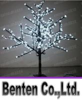 ingrosso illuminazione rosa albero fiore-LED Artificiale Cherry Blossom Tree Light LED di Natale 480pcs LED 1.5m Altezza 28W LED Landscape Lighting Luce esterna LLFA4452F