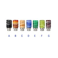 Wholesale Ego Assorted - New ecigarette drip tips glass drip tip 510 mouthpiece fit EGO RDA RBA Tank 510 Atomizers assorted drip tips
