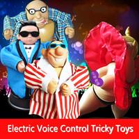 yetişkin bebek sesi toptan satış-Yenilik Hediye Ses Kontrolü Endüktif Bebek Yetişkin Yaratıcı Şakalar Komik Tricky Oyuncaklar Doğum Günü Noel sevgililer Günü Hediyeleri Için 5 Stilleri