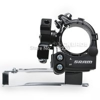Alloy sram parts - SRAM Bicycle Parts Front Derailleur X4 Speed Low Clamp mm Black