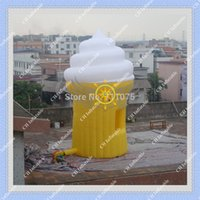 Wholesale Hot Selling Inflatable Ice Cream Tent Inflatable Kiosks in Ice Cream Shape Free Blower Included