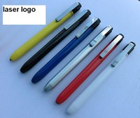 Wholesale Dental Pen - 2017 new Dentist dental flashlight pen torch with one color customized laser logo made in China free shipping