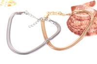 silberne knochenarmbänder großhandel-Charms Armband für Frauen Männer Silber überzogene Armband, Gold Silber überzogene Modeschmuck Flach Snake Bone Armband