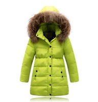 Wholesale Long Winter Coats For Boys - Baby Girls Winter Coats 2015 Kids Jackets For Boys Parka Down Thick Warm Outdoor Casual Windproof Children Jackets