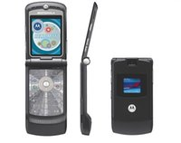 Wholesale Original V3 Cell Phone - Refurbished Original MOTOROLA RAZR V3 V3i Unlocked Cell Phone 1.3MP Camera Quad Band AT&T T-Mobile