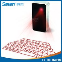 Portable Mini sans fil Bluetooth Virtual Laser Keyboard clavier de projection pour pad téléphone ordinateur Tablet