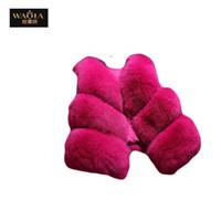 coréen gilet de mode achat en gros de-Mode coréenne automne-hiver nouveau produit 2015 femmes gilet sans manches solide mode tous les match de fourrure gilet femmes manteau veste