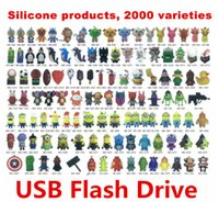 Wholesale Pen Drive Speed - 256GB 128GB 64GB Pen drive USB 2.0 64GB PVC 2000 varieties silicone USB productsUSB Flash Drive USB Flash Disk USB Drives USB Memory