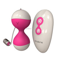 Wholesale Remote Control Vibrate Egg - Sex Toys Remote Control Vibrating Egg and Smart ball 7Speed Vibration Kegel Pelvic Floor Muscle Tightening Vibrating #1 year Warranty