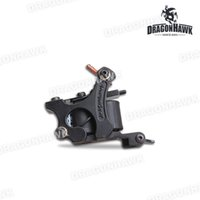 Wholesale Iron Tattoo Frames - New Tattoo Machine Gun Liner 10 Wraps Steel Frame Copper Coils WQ4444-1