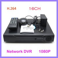 Wholesale 16ch Dvr Cctv - H.264 16CH Linux Security CCTV Camera System Network DVR Recorder HDMI 1080P 400 480FPS Support HD VGA BNC Simultaneously Output