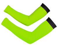 ingrosso riscaldatori a braccio solido-Manicotto tinta unita manica semplice stile Bike MTB Ciclismo Scaldini Protezione UV Ciclocamera Manicotti maniche lunghe Manicotti