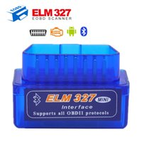 Gros-Super Mini Bluetooth Elm327 Dernières 327 interface OBD2 / OBD II Car Auto Diagnostic Scanner Version V2.1