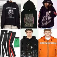 Wholesale Red Hot Printing - New Hot Fashion Sale Brand Clothing Men Hoodies Print Cotton Shirt men Women jacket Hoodies 23 styles S-XL