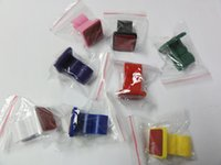 Wholesale Ego Clips - E cigarette Car Holder eclip clame stander with sticky bottom colorful plastice clip for ego T e cig batteries Mechanical Mod free shipping