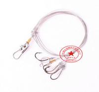 Wholesale Hook Gamakatsu - Fishing Hook Ise Pill Bank Wire String Hook Fishing #6-#17 Pescaria Anzuelos Swivel Anzol De Pesca Mustad Owner Gamakatsu Snap