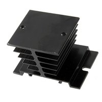 Wholesale Heat Relay - SSR Small Type Aluminum Heat Sink For Solid State Relay Heat Dissipation C1Hot New Arrival