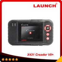 neue startdiagnose großhandel-2016 original Launch X431 Scanner Launch Creader Professioneller Creader VII + gleiche Funktion mit CRP123 Auto Scanner New obd03