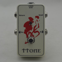 True-Bypass Looper Effetto pedale Effetto chitarra pedale Looper Switcher pedale manuale per bypass Pedale Loop W