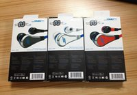 Wholesale Sms Volume - Mini miniSMS Street by 50 Cent Street with MIC and Volume Control Earphones for MP3 Player iPhone 5S 6 6 plus sumsung s6 s5