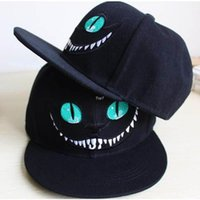 Wholesale Bugs Bunny Snapback - New 2016 Alice in Wonderland Cheshire Cat cartoon baseball caps BUGS BUNNY SYLVESTER hats for Men and Women snapback hiphop bboy