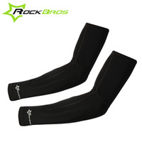 ROCKBROS Unisex Bike Cycling Lycra Arm Warmers Proteção UV Riding Driving Arm Sleeves Breathable Bicycle Arm Warmers 299
