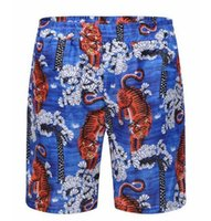 Factory Tiger Men Beach Shorts Marca Estate Asciugatura rapida Ragazzi Nuoto Pantaloni corti Homme Mens Board Trunks Blue M-3XL