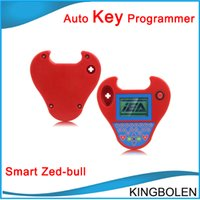 Wholesale Car Tools Price - Wholesale price Professional Transponder Key Programmer Smart Zed Bull car Key Clone tool Mini zed-bull Free Shipping