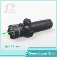 Wholesale Tactical Green Laser Gun Sights - Adjustable Tactical Green Laser Sight Gun Mount Outside Rifle Scope& Remote Pressure Switch for Pistol Picatinny Rail HT3-0001G